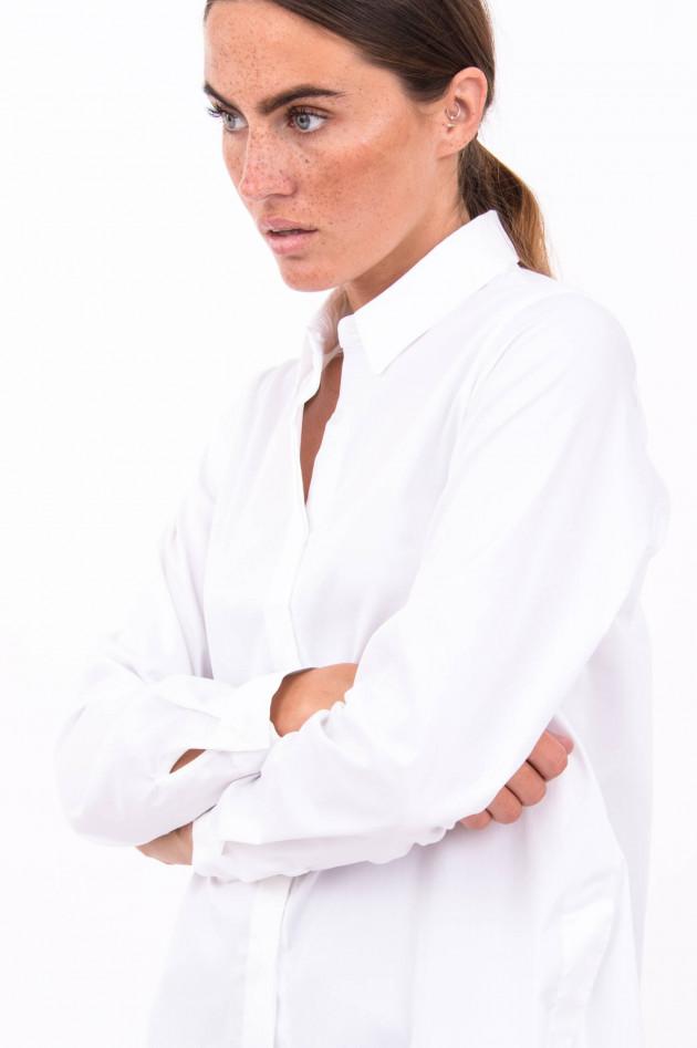 Rosanna Diva Baumwoll-Mix Bluse in Weiß