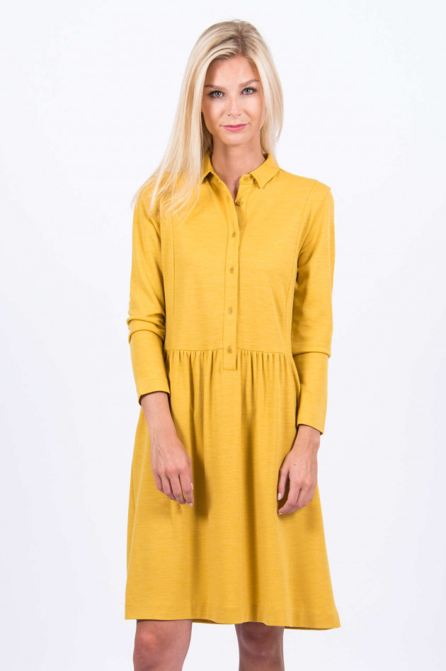 Rosso 35 Blusenkleid in Gelb