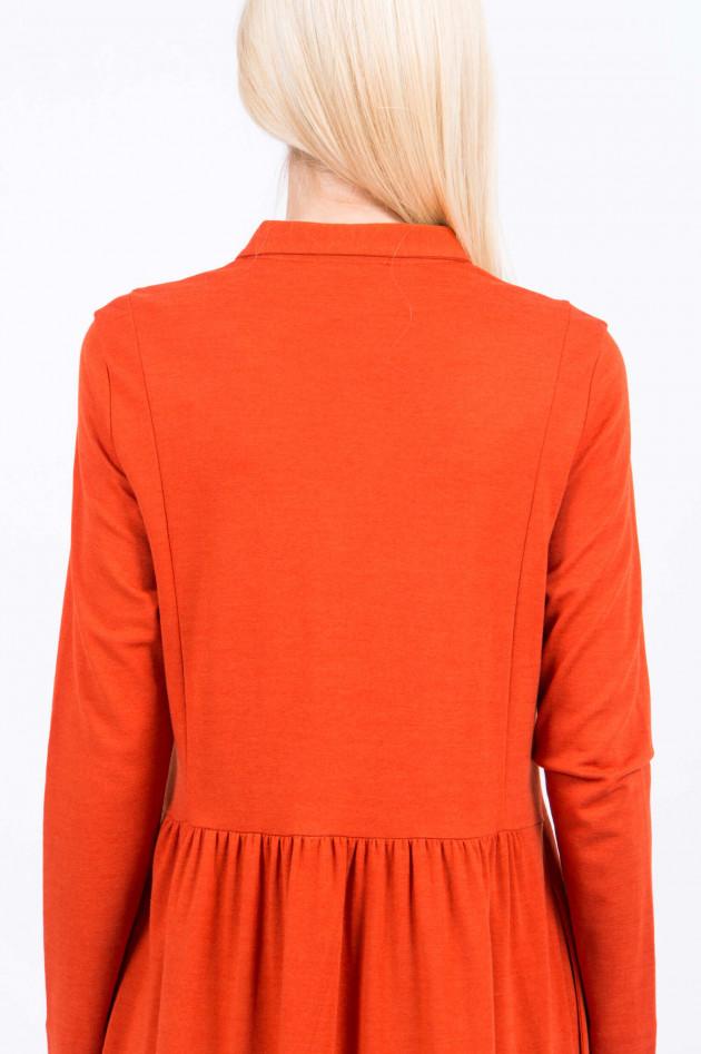 Rosso 35 Blusenkleid in Orange