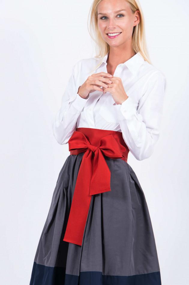 Sara Roka Bindegürtel in Kaminrot