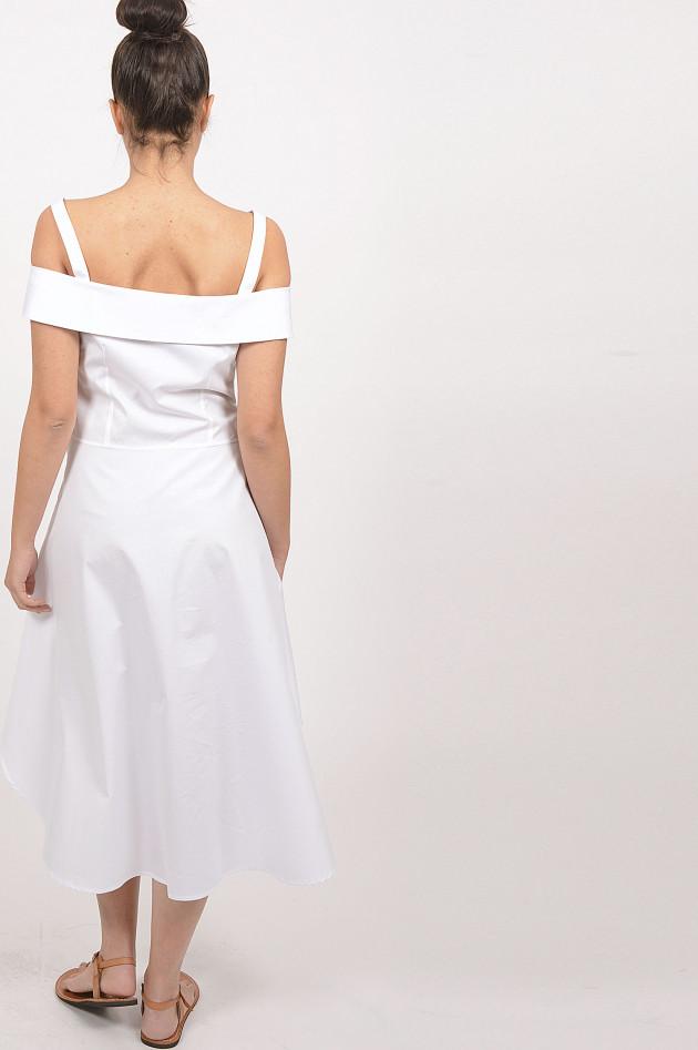 Sara Roka Kleid mit Ärmel in Weiß