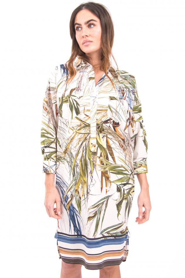 Sara Roka Kurzes Hemdblusenkleid in Multicolor