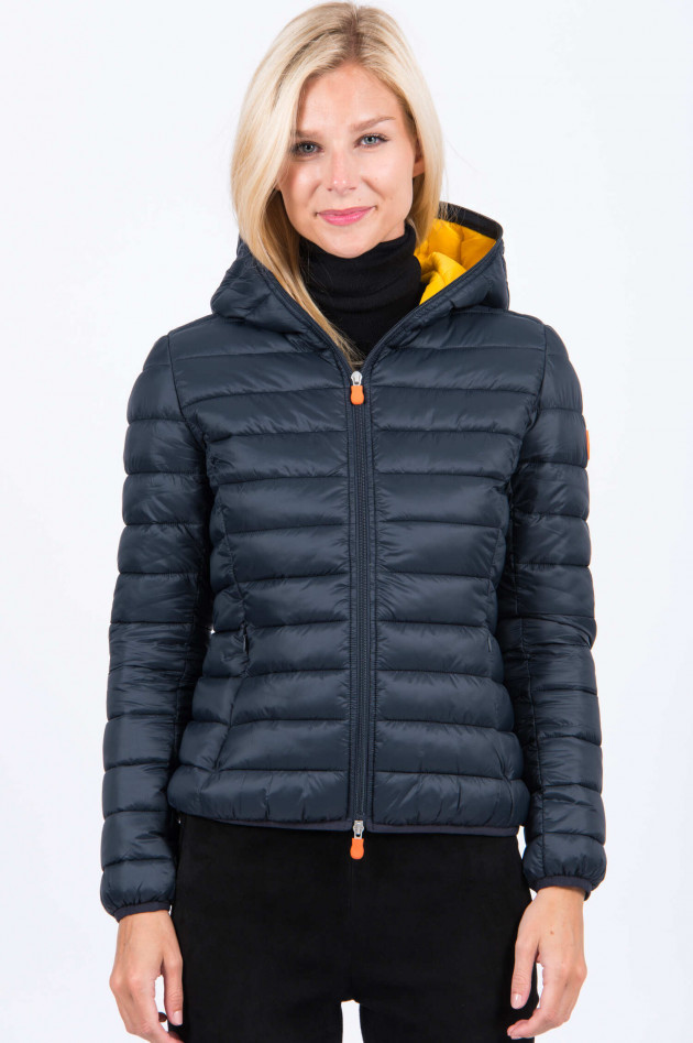 Save the duck Jacke in Schwarz