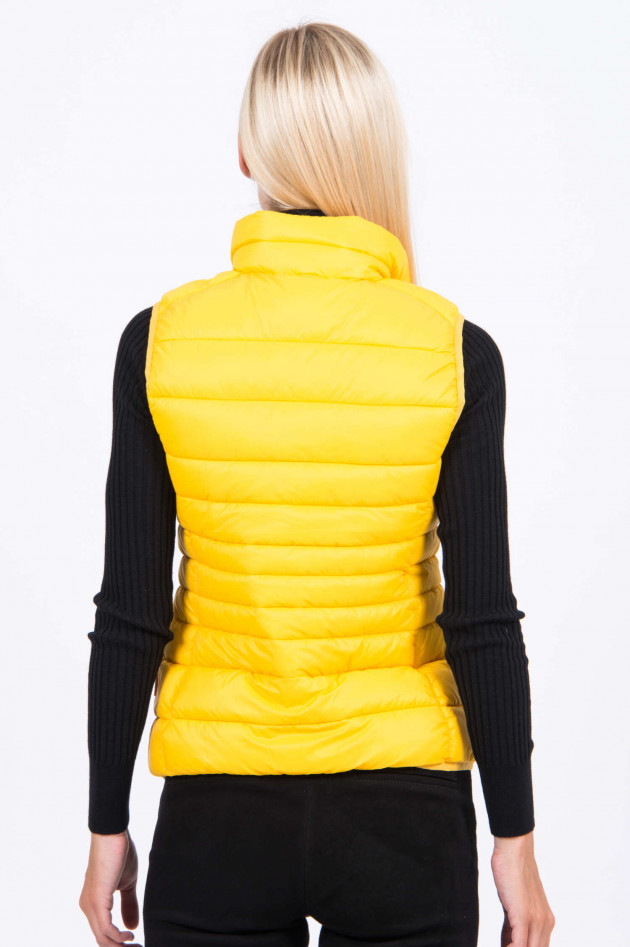 Save the duck Gilet in Sonnengelb