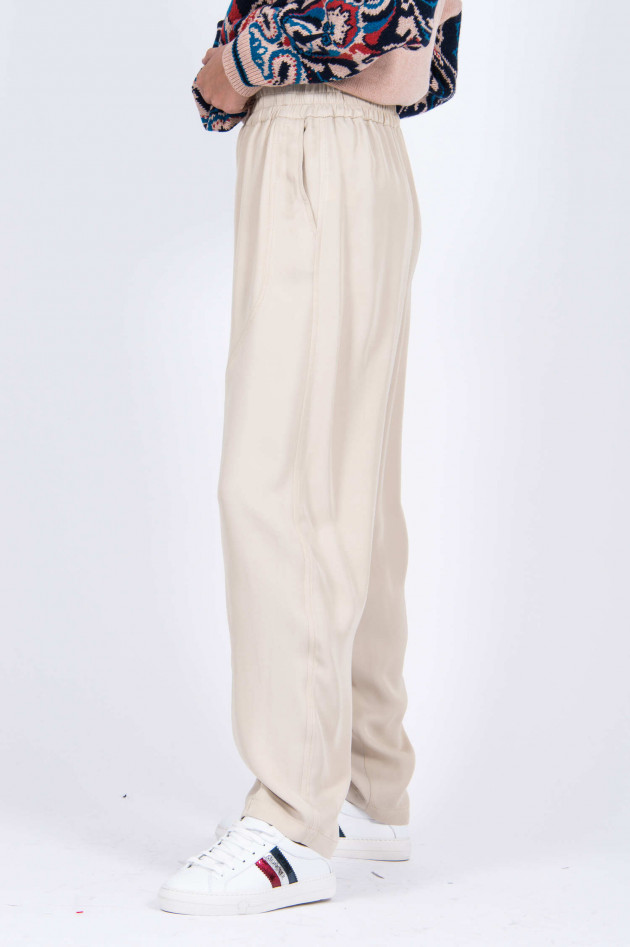See by Chloé Weite Hose in Beige