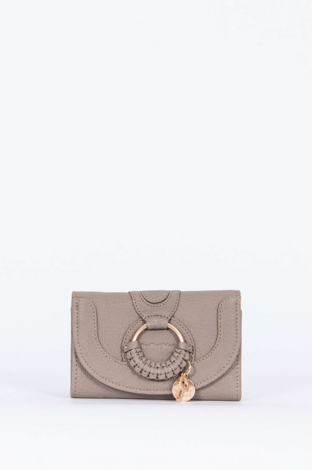 See by Chloé Brieftasche HANA small in Taupe