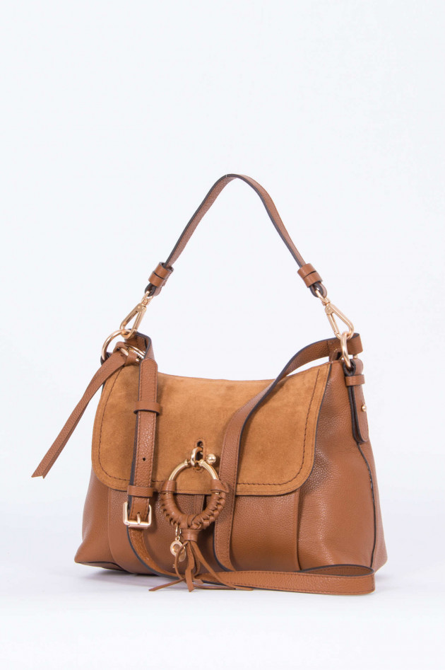 See by Chloé Schultertasche JOAN in Camel