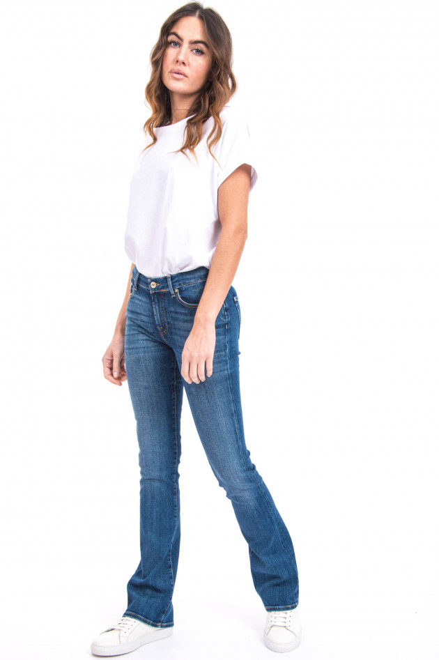 Seven for all Mankind Jeans BOOTCUT SOHO LIGHT in Mittelblau