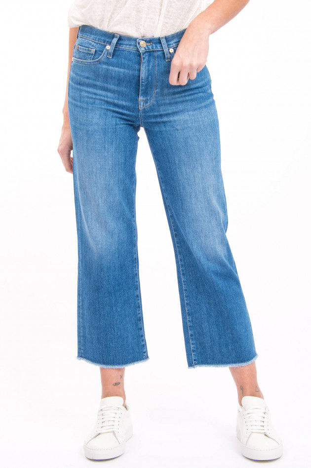 Seven for all Mankind Jeans CROPPED ALEXA in Mittelblau