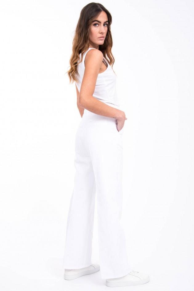 Sly Jeans aus schwerem Denim in Weiß