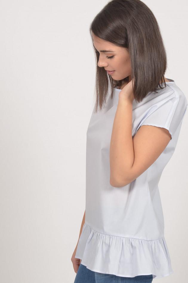 Soluzione Blusenshirt in Hellblau