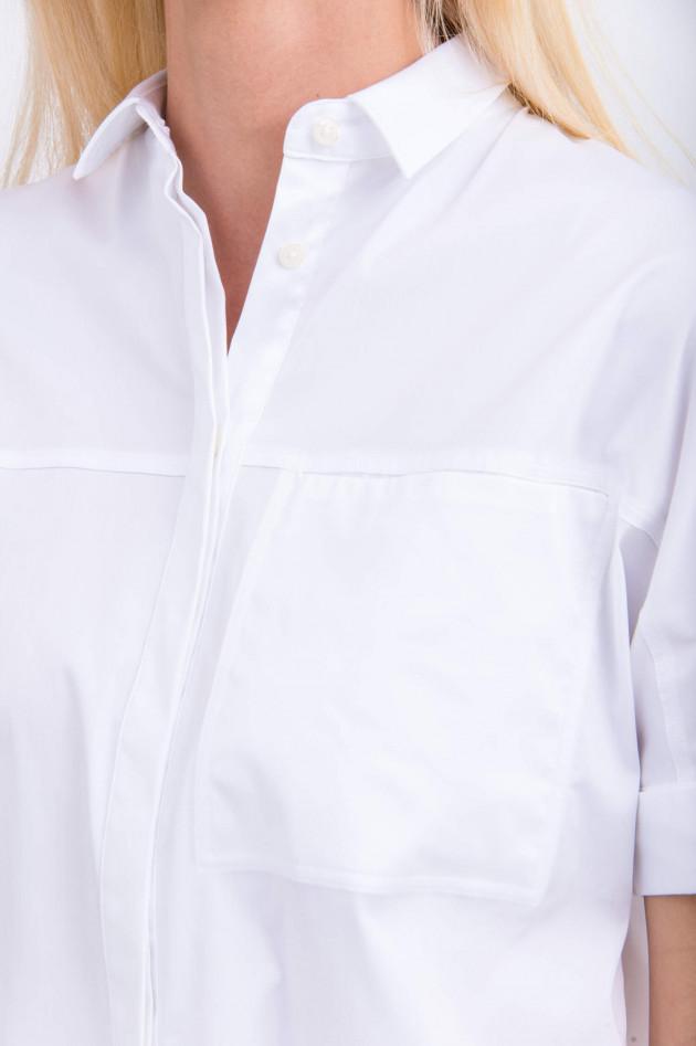 Soluzione Kurzes Hemd in Weiß