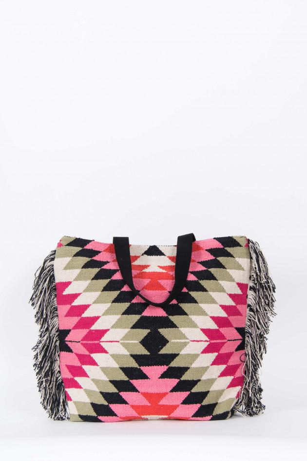 Soul Kathrin Shopper mit Grafischem Muster in Pink