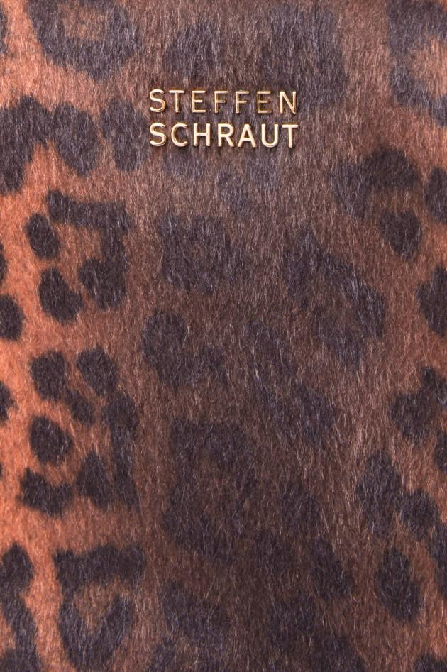 Steffen Schraut Shopper im Leo-Print