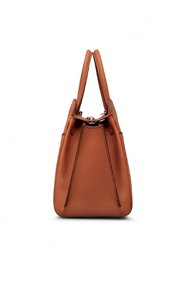 gr ner online shop tod 39 s tasche sella bag small in cognac. Black Bedroom Furniture Sets. Home Design Ideas