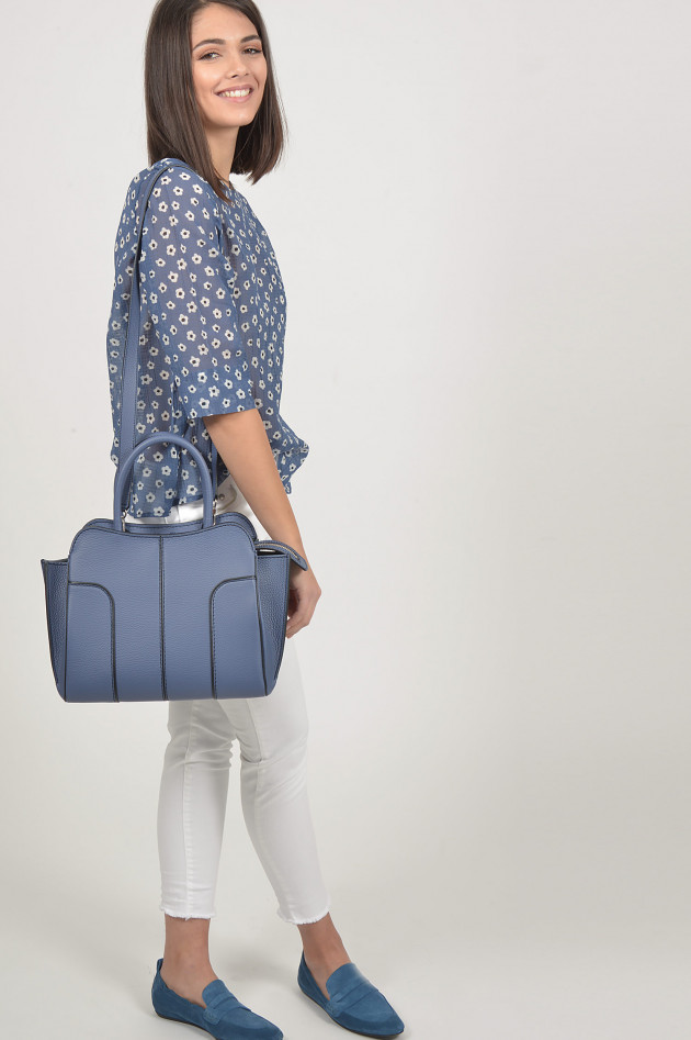 Tod's Tasche SELLA BAG SMALL in Blau