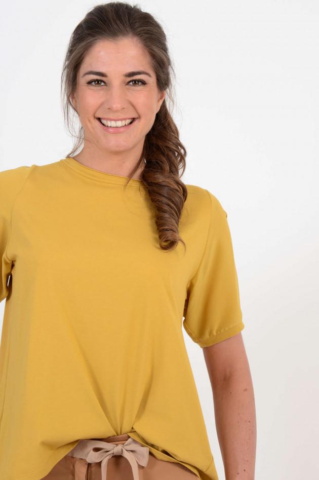 Tortona 21 Shirt mit Kellerfalte in Gelb