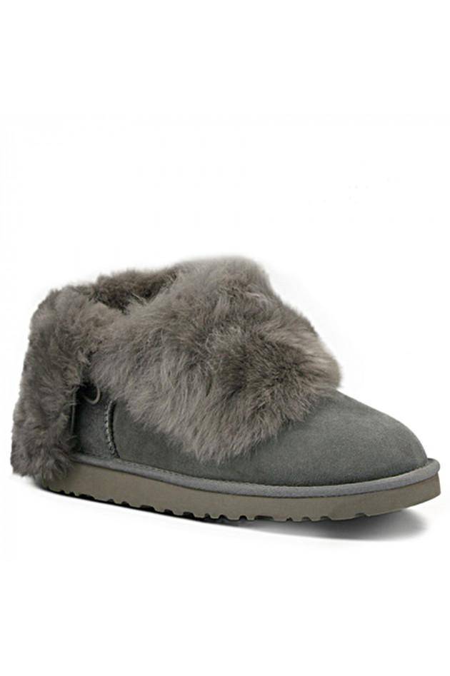 gr ner online shop ugg ugg boots bailey button bling grau. Black Bedroom Furniture Sets. Home Design Ideas