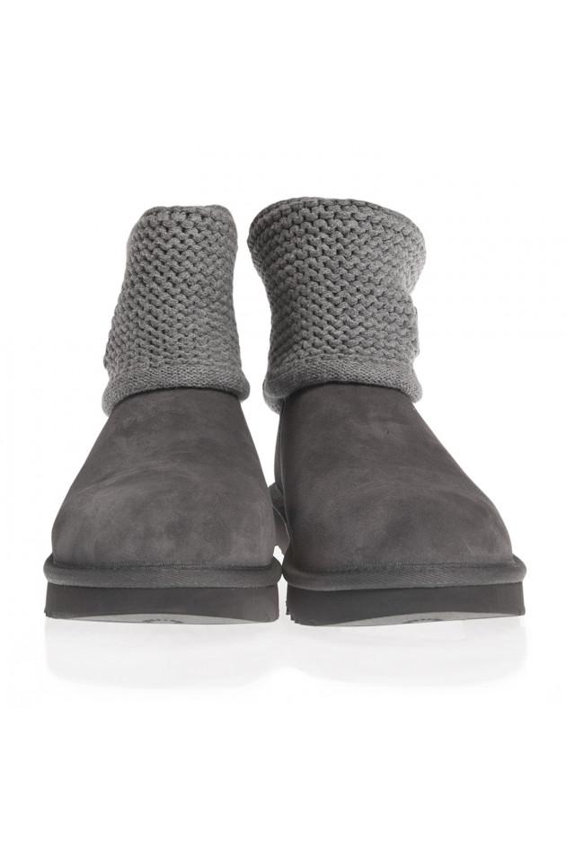gr ner online shop ugg ugg boots shaina in grau. Black Bedroom Furniture Sets. Home Design Ideas