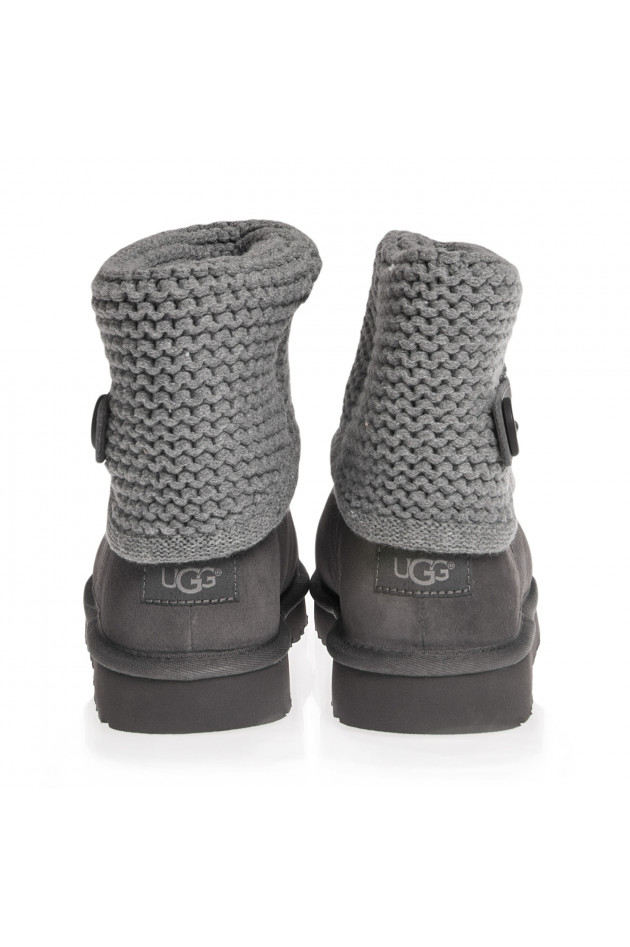 gr ner online shop ugg ugg boots shaina in grau. Black Bedroom Furniture Sets. Home Design Ideas