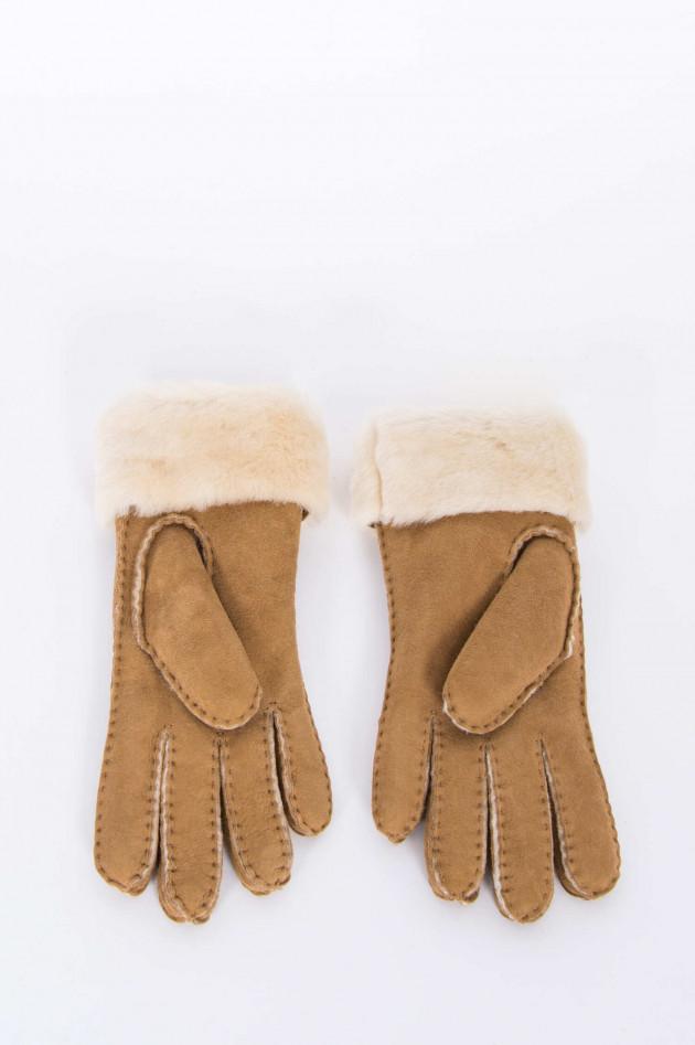 Handschuhe TURN CUFF in Chestnut