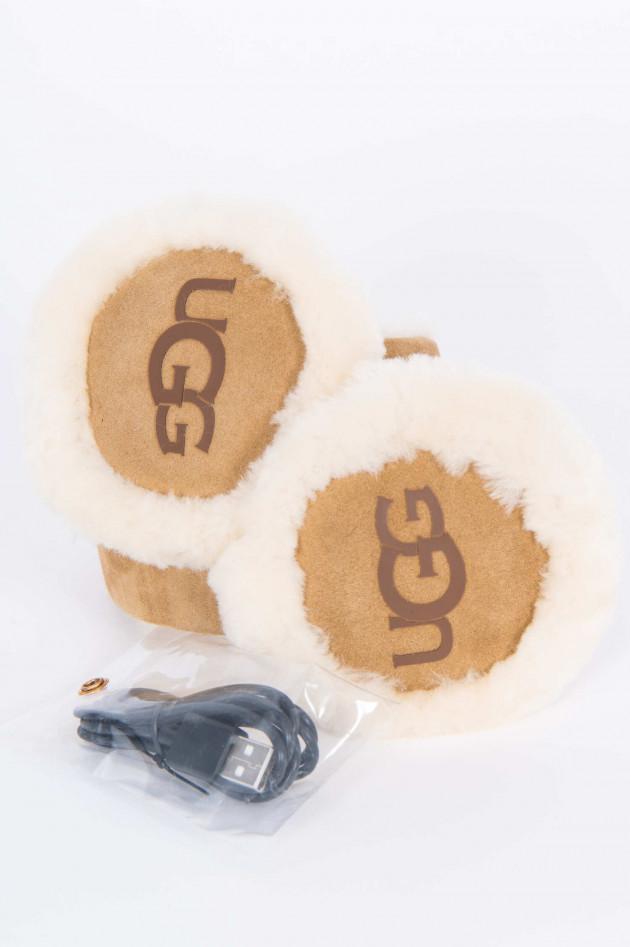 UGG Bluetooth-Ohrenwärmer in Chestnut