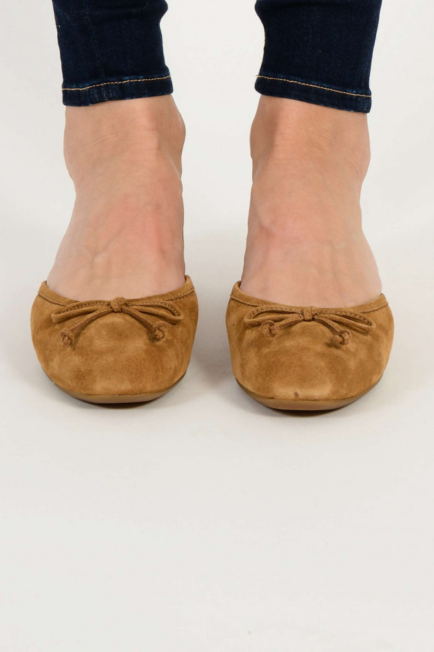 Ballerinas LENA in Chestnut