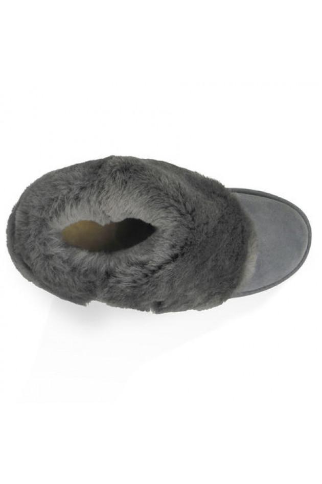 ugg boots bailey button grau