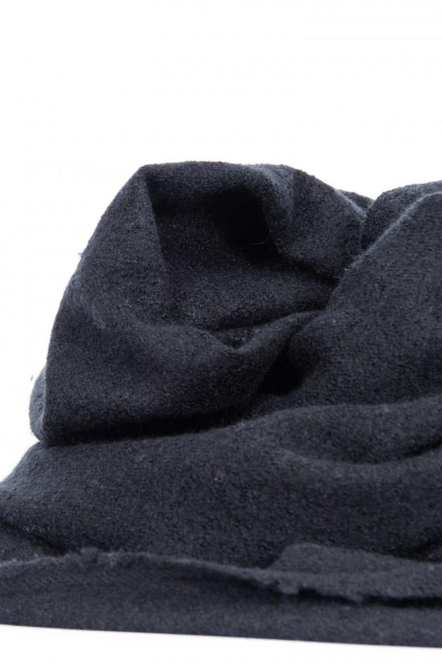 Unexpected Japan Schal aus Kaschmir und Seide in Schwarz
