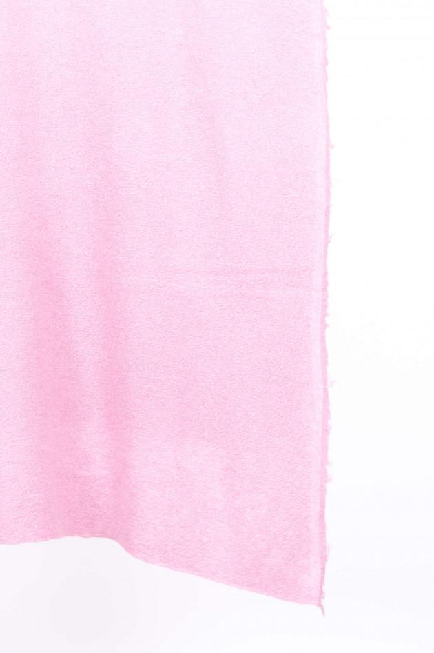 Unexpected Japan Schal aus Kaschmir und Seide in Rosa