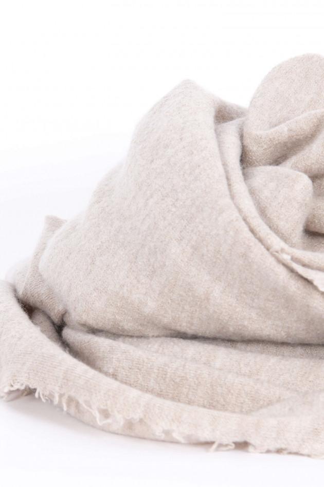 Unexpected Japan Schal aus Kaschmir und Seide in Beige