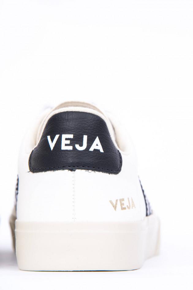 Veja Sneaker CAMPO in Weiß/Schwarz