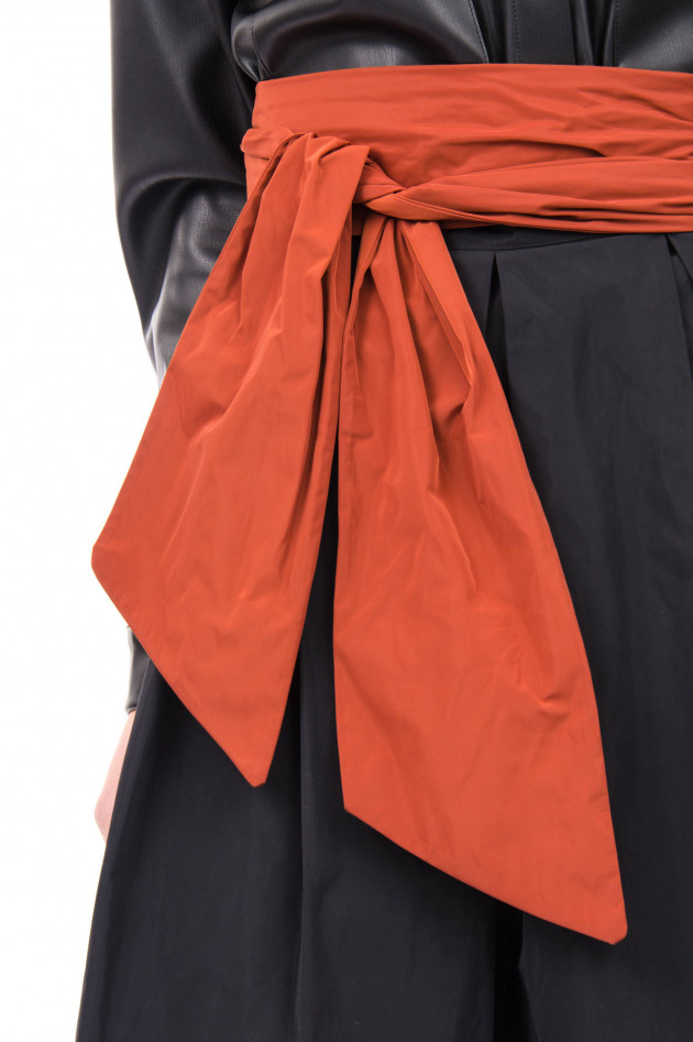 Vicario Cinque Taft-Gürtel BABARA in Orange