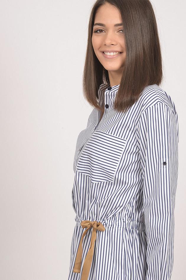 BlauWeiß Windsor Kleid gestreiftGRUENER AT in LMpqSzGUV