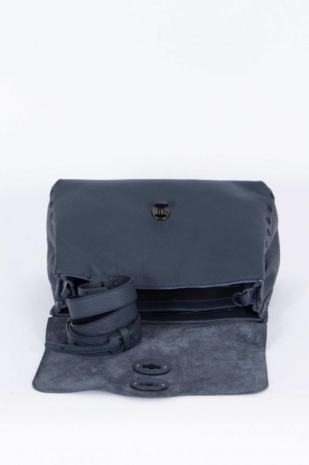 Zanellato Handtasche in Blaugrau