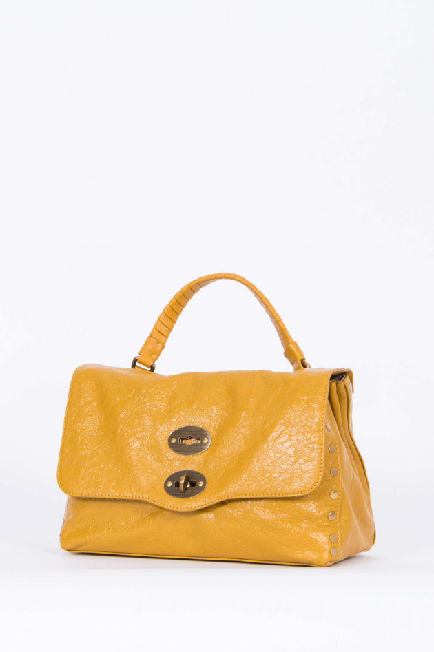 Zanellato Handtasche in Senfgelb