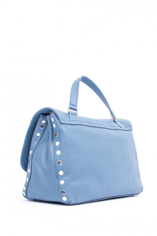 Zanellato Handtasche POSTINA MEDIUM in Blau
