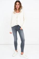 Jeans LEGGING ANKLE in Grau