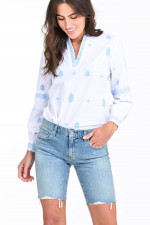 Jeans-Shorts NIKKI in Hellblau