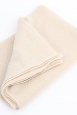 Basic Kaschmir-Schal in Natur