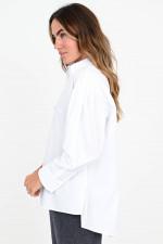 Lange Bluse BELLEFRONTE in Weiß