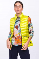 Leichtes Gilet in Limette