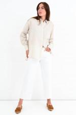 Jeans-Culotte CASEY in Weiß