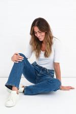 Straight-Jeans PARIS in Mittelblau