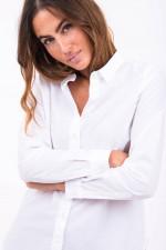Bluse aus Bio-Qualität in Weiß
