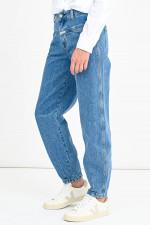 Organic Jeans PEDAL JEANIE in Mittelblau