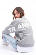 Sweater LOST IN TRANSLATION in Grau