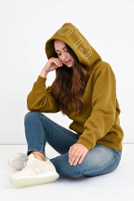 Sportiver Hoodie in Military