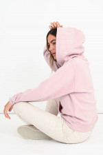 Sportiver Hoodie in Pastell-Rosa