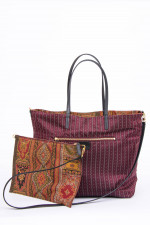 Shopper mit Wendefunktion in Multicolor